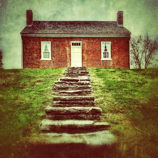 The Rankin House in Ripley sheltered around 2,000 escaped slaves on the Underground Railroad
