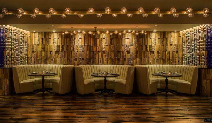 El Hard Rock Cafe es un excelente ejemplo de como usa el Marketing Sensorial ya que al traspasar sus puertas hace q sus clientes se sientan en otro mundo Hotel Hard Rock Cafe - Palm Green San Diego - California Mister Important Design Firm