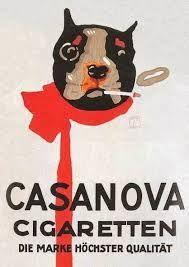boston terrier cigarette ad