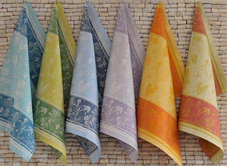 #LinenWay #Jacquard Towels #Linen #Towels #Kitchen Towels #Colourful Towels #Jacquard #Hemstitched Towels