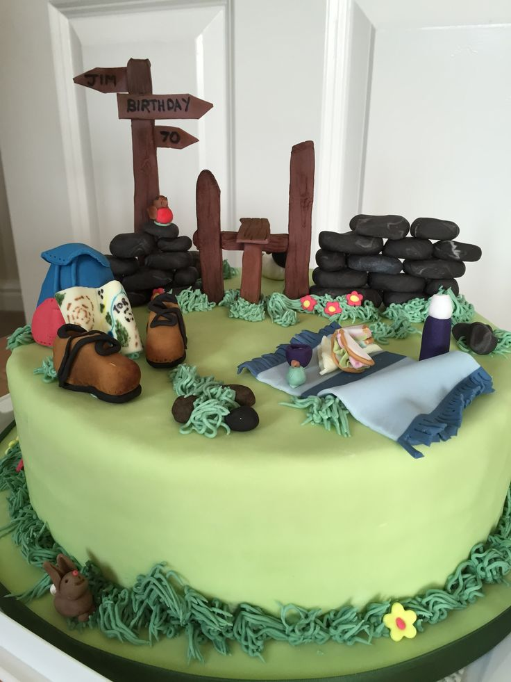 17 Best Images About Hiking Cake On Pinterest Dads