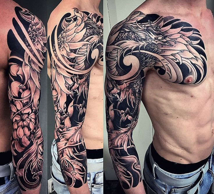 Amsterdam tattoo 1825 kimihito japanese style custom for Full custom tattoo