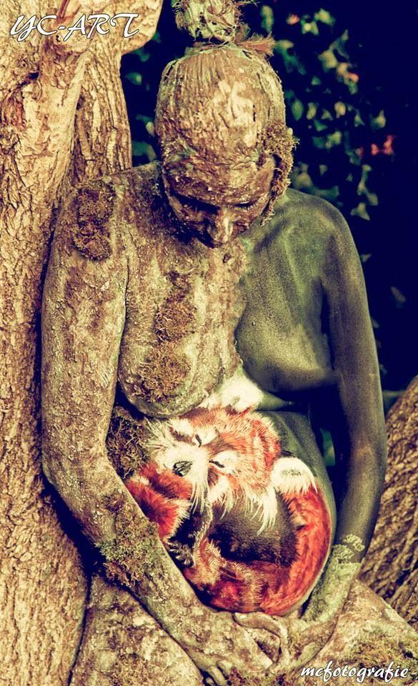 Mother nature paint bij Yvonne zonnenberg