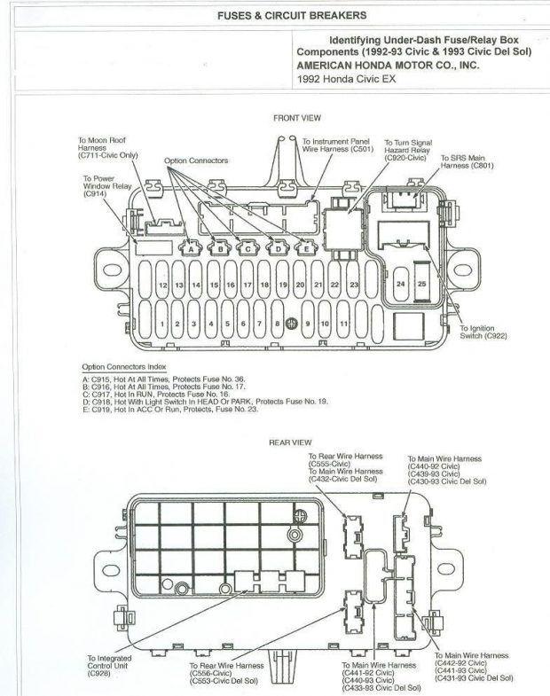 2008 Honda Accord Fuse Box Diagram Beautiful 2006 Honda Accord