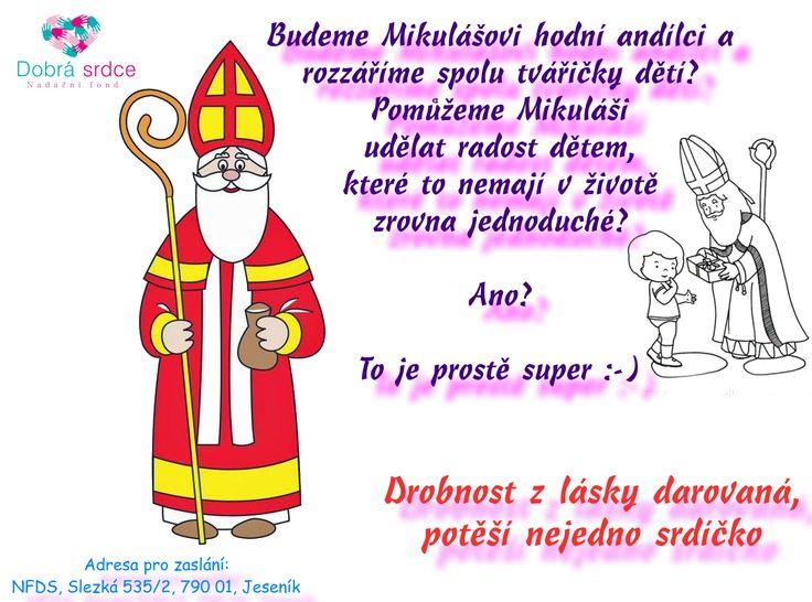 Mikuláš s Ježíškem  Udělejme dětem radost :-) <3