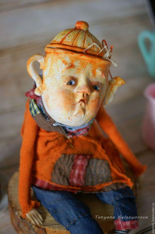 Коллекционные куклы ручной работы. Мистер Чайничек