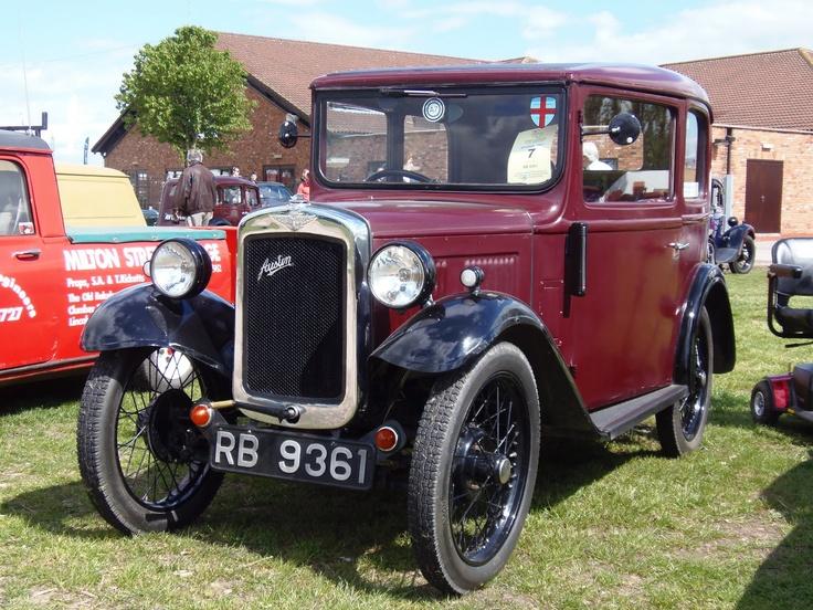 1933 Austin 7 Box Saloon type RP