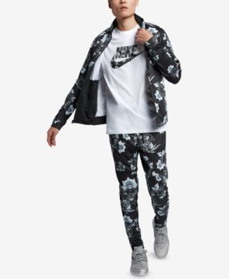 ce9498162b Nike Men s Russian-Floral Inspired Track Jacket