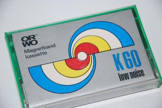 DDR Museum - Museum: Objektdatenbank - ORWO Magnetbandkassette    Copyright: DDR Museum, Berlin. Eine kommerzielle Nutzung des Bildes ist nicht erlaubt, but feel free to repin it!