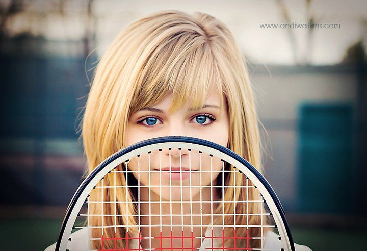 Tennis is where my heart really is.... And I love the hair!