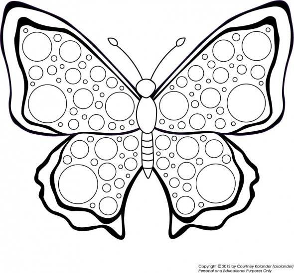 A Collection Of Free Printable Butterfly Coloring Pages Books And More Is Creative Fun Relaxing Activity For All