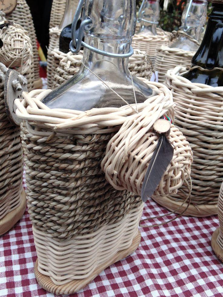 Classico FVG bottiglia di grappa per ALPINI CREATA DA <3 CESTI DI MARA <3 con cappellino ALPINO