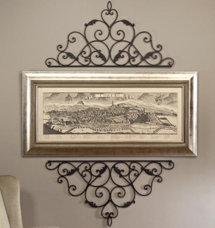 Wrought Iron Wall Decor Outdoor | Wrought Iron Designs. Dr