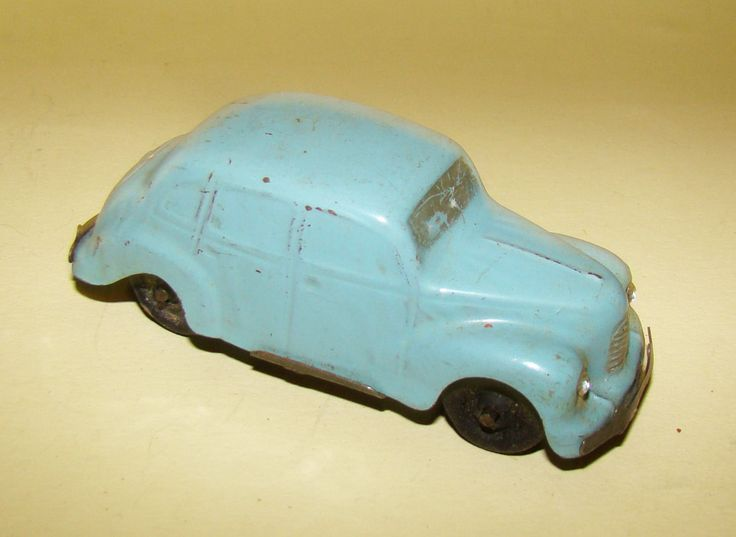 early tinplate Dibro friction car - probably an Austin Devon c. 1950s | eBay