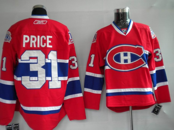 0ad949e24 ... Reebok Jersey NHL Jerseys Montreal Canadiens Carey Price 31 Red  httpdigjersey.com ...