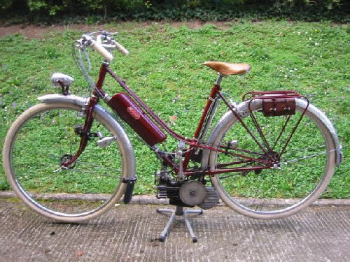 Dujardin Mixte With Mosquito Engine | Flickr - Photo Sharing!