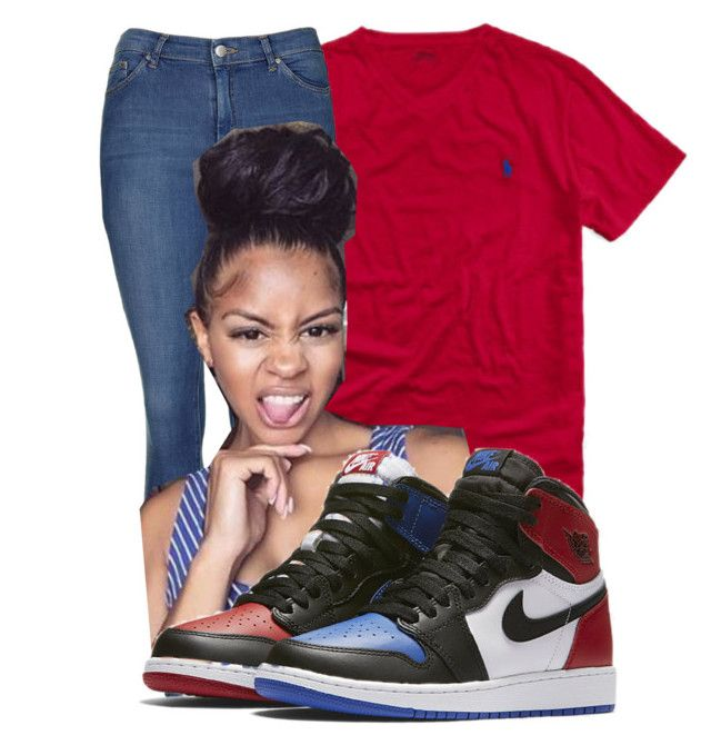 """""""Drake // Over ⚓️"""" by jaadentiller on Polyvore featuring Ralph Lauren, Topshop and NIKE"""