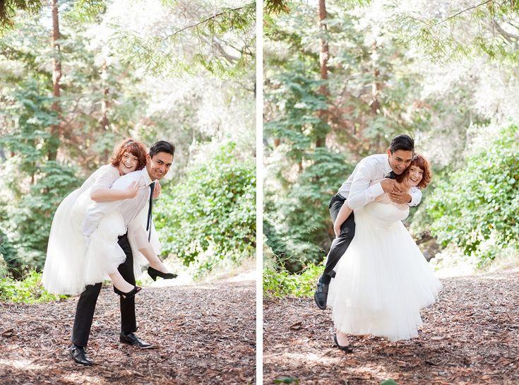 Unique Wedding Photo Poses Ideas