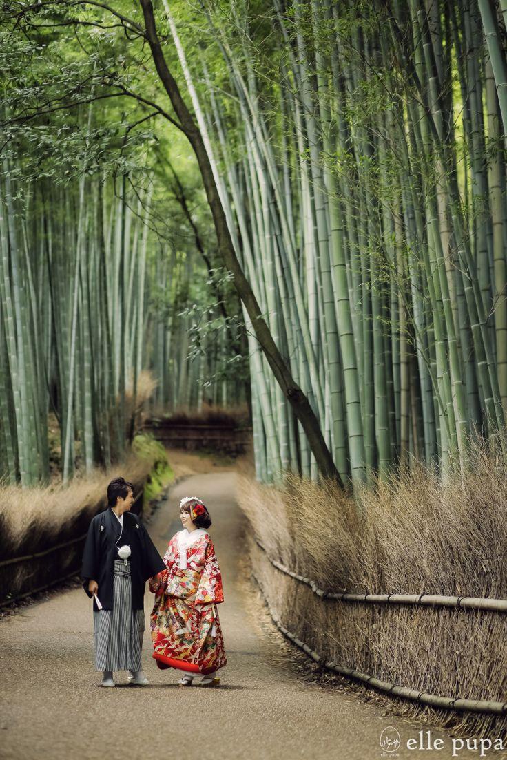 嵯峨野の竹林&八坂で前撮り* |*elle pupa blog*
