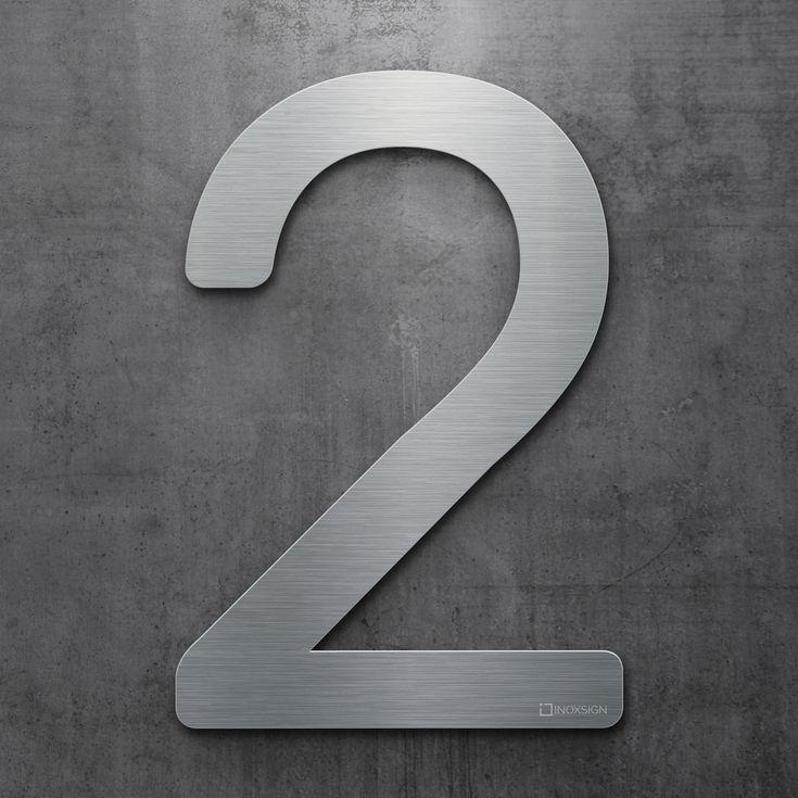 Hausnummer Modern 22 best inoxsign hausnummern edelstahl design hausnummer