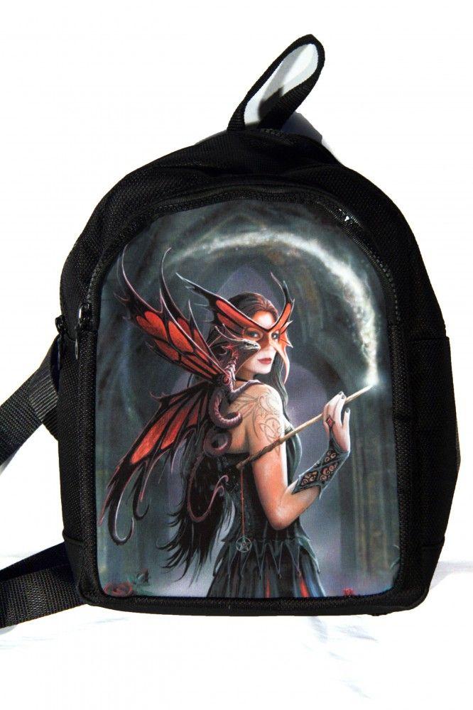 Hátitáska, hátizsák, pillangó lány