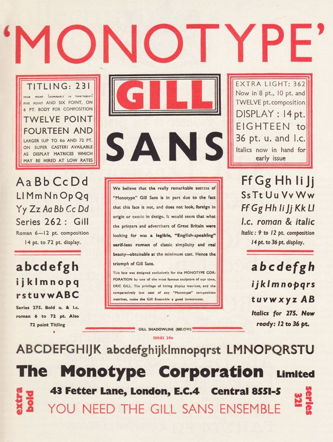 Lookbook #6: Type. A Visual History of Typefaces & Graphic Styles