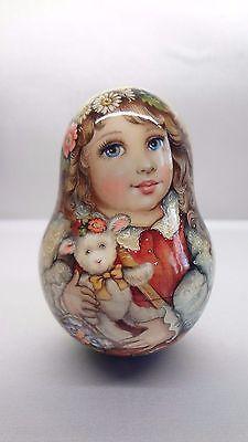 1 вид искусства акварель Roly безумцев вкладной Матрешка Русский авторская кукла Катя