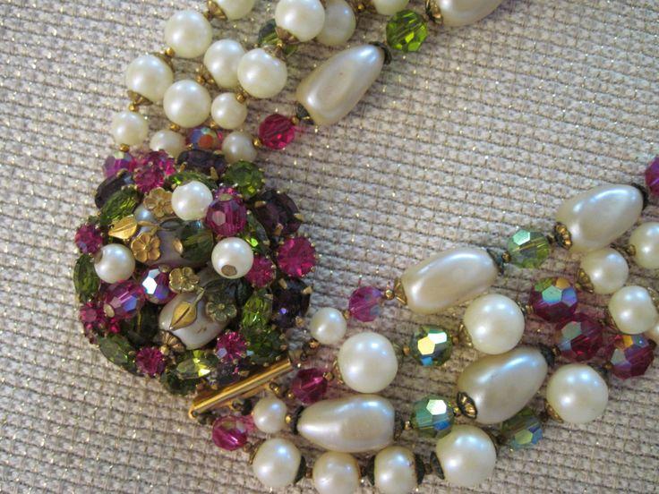 Splendida originale di collana a più fili Robert di AdoringVintage