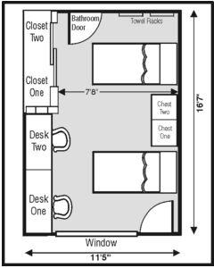 Gracy Hall Layout. Dorm RoomHall Part 48