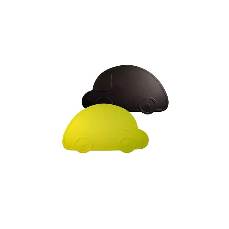 Car table mat I KG Design in black