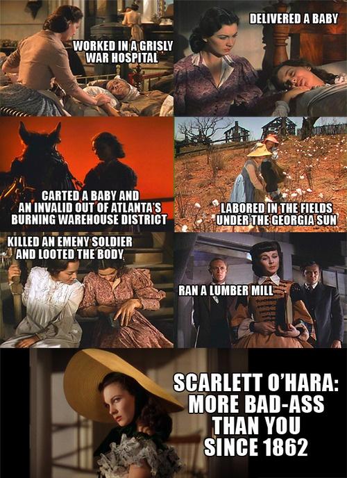 Scarlett O'Hara - Gone with the Wind