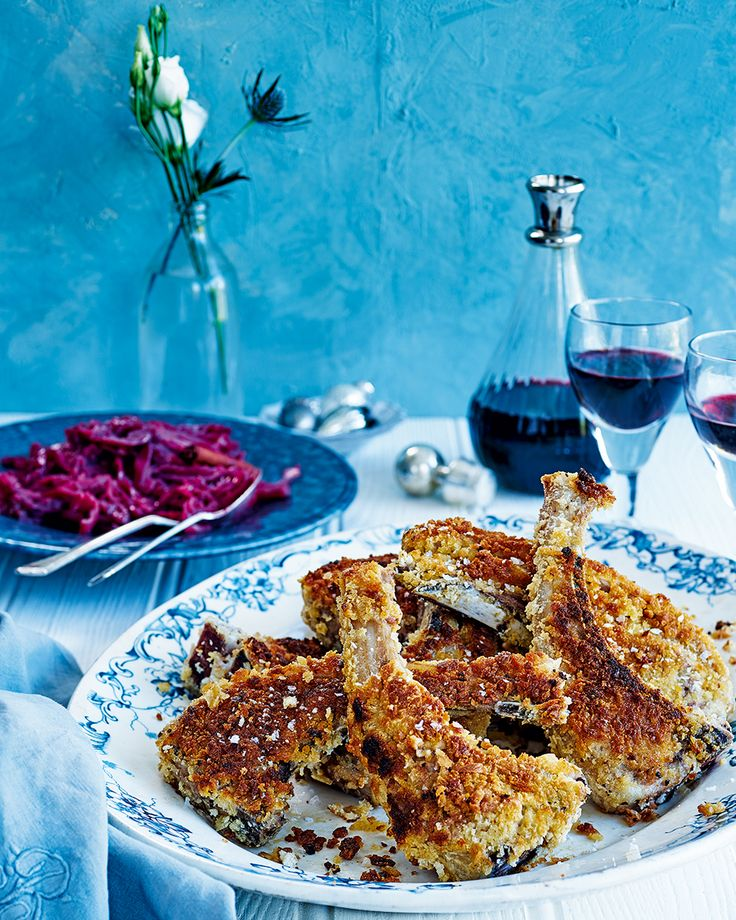 Rick Stein's breaded lamb chop recipe hails from Iceland and is undeniably moreish. Serve alongside the spiced red cabbage for extra element of flavour.