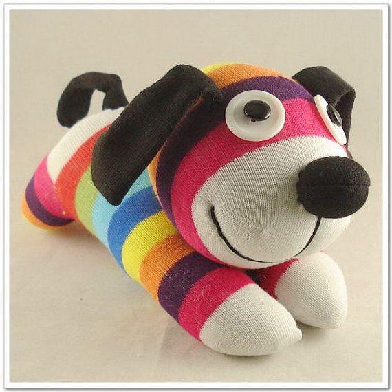 Christmas Gift New Year Gift Handmade Sock Dog Stuffed
