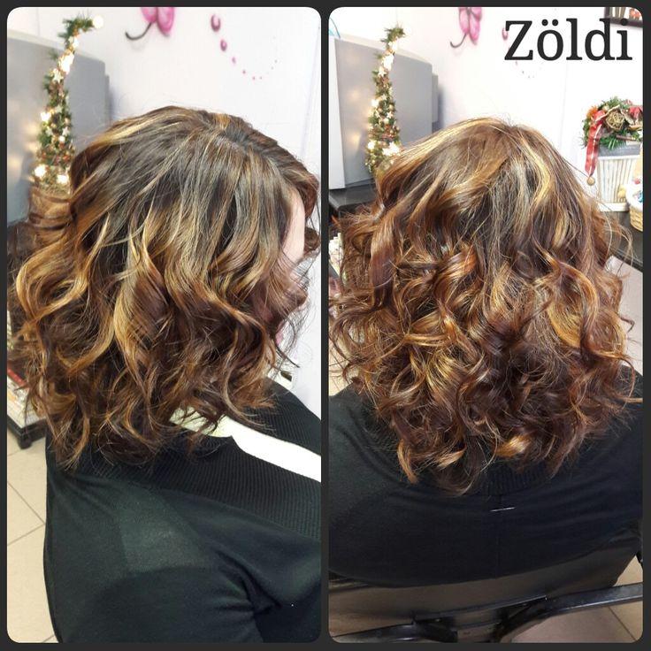 #zöldiszilvia #mywork #munkám #haircut #hajvágás #hairstyle #hajfestés #haircolor #tigereye