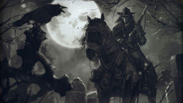 Охотник за головами Дениса Tsiperko   Иллюстрация   2D   CGSociety