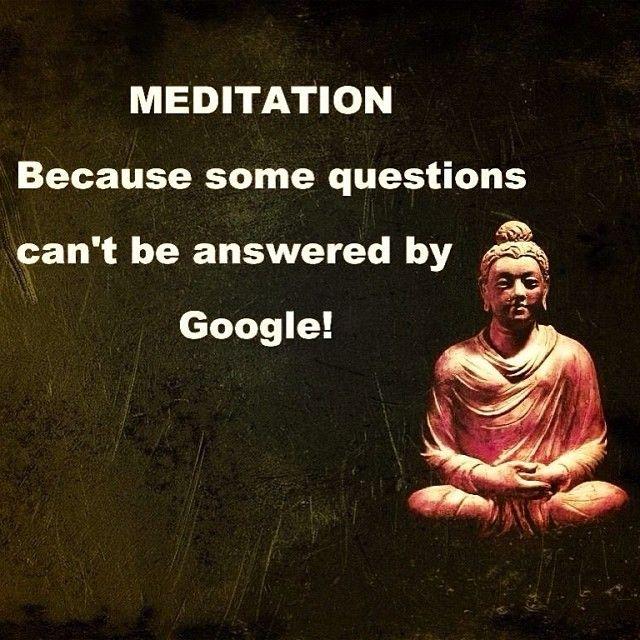 #Meditación, xq algunas respuestas No están en google ! #Umalov  @yogayoguines