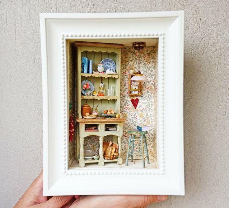 299 Best Miniature ROOMBOX Images On Pinterest
