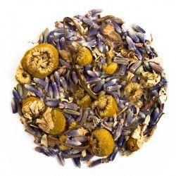 Manzanilla Lavanda - Origen: Mezcla de la casa.Ingredientes: Flor de lavanda con manzanilla. Perfecto para preparar caliente.