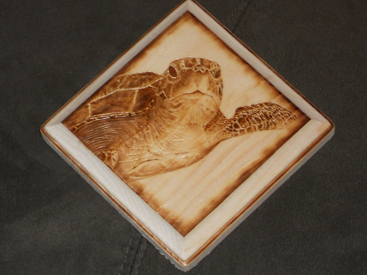 Best Wood Burned Art By Colleen Jess Sea Turtle With Pyrography Ideas