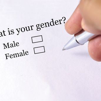 """Different surveys or tests prompt people with the question of """"What is your gender"""". This question expresses the gender binary and does not include any other options besides male or female, when in reality there are many different gender identities."""