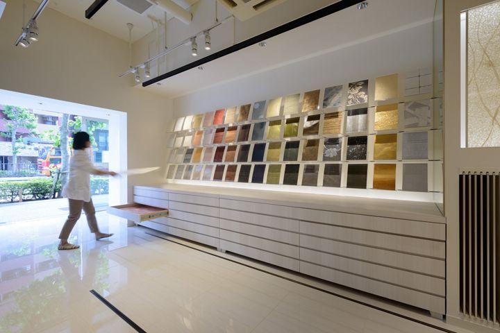 Kamism showroom design by Ichiro Nishiwaki, Tokyo   Japan showroom store design