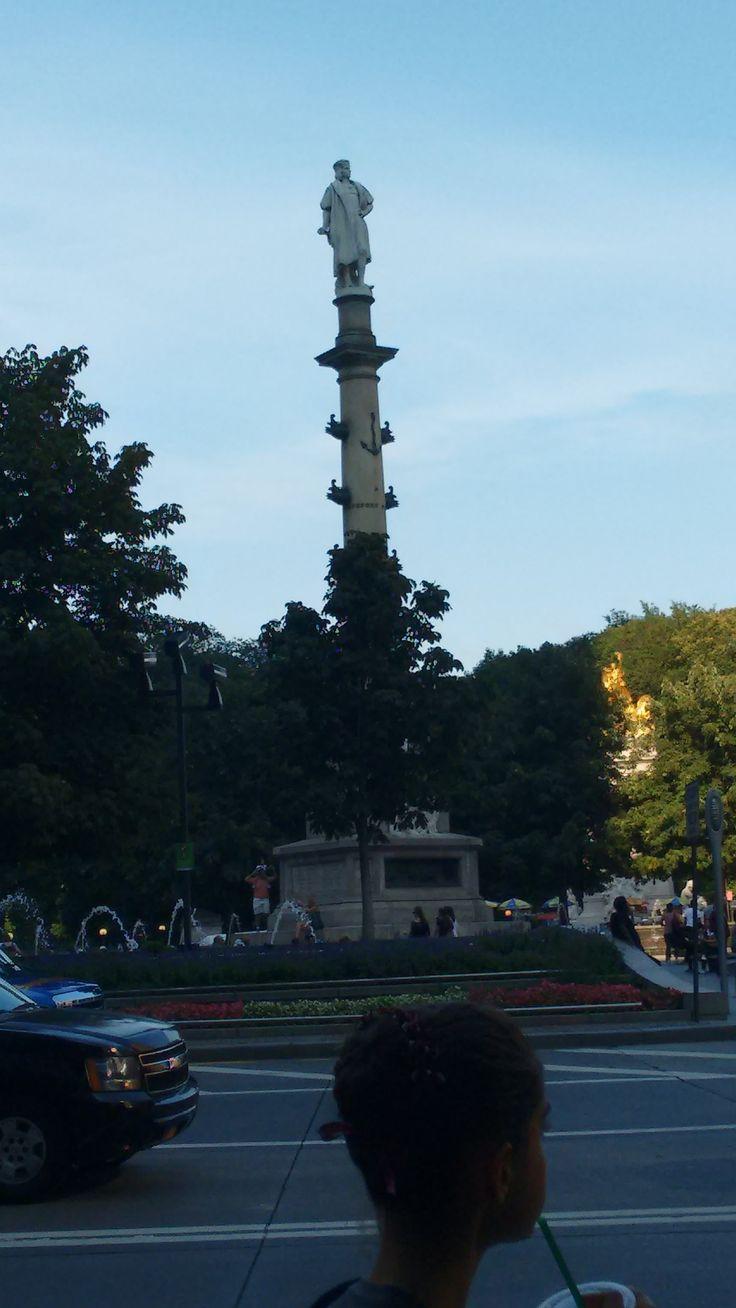 Columbus Circle NY - Monumento a Cristobal Colon NY