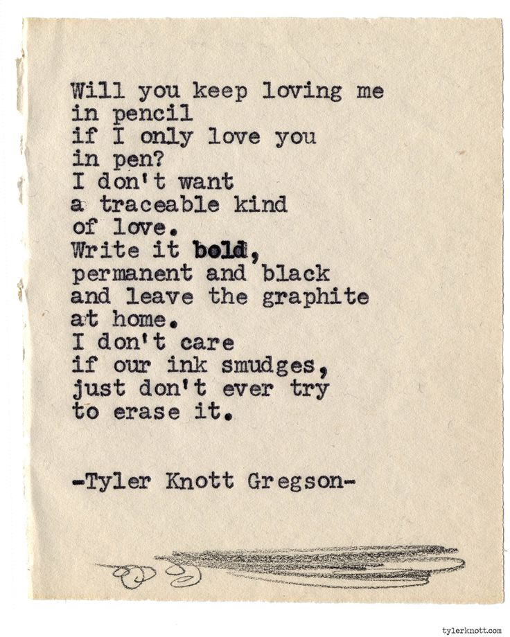 Typewriter Series #865 by Tyler Knott Gregson *Pre-Order my book, Chasers of the Light, and donate $2 to @TWLOHA and get a free book plate signed by me :)  Click the link in my bio, or go here:  tylerknott.com/chasers*