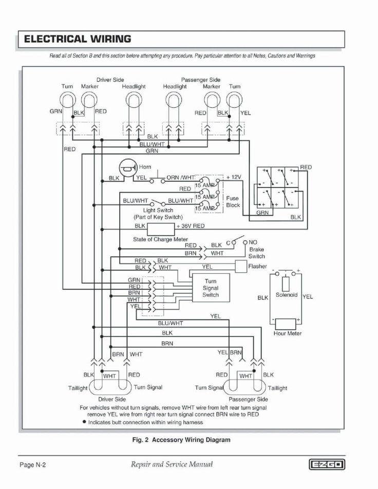 Wiring Diagram For Club Car Lights  Diagram