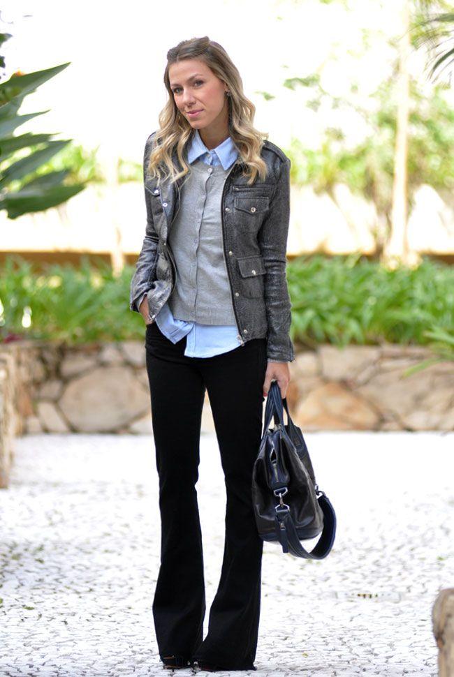 glam4you - nati vozza - look - sobreposição - cinza - look trabalho - formal…