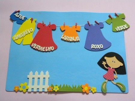 Placa varal de cores  DECORAÇÃO PARA SALA DE AULA 2014   A PETILOLA tem cada novidade para volta às aulas.  Sua sala de aula vai ficar linda!!!  Confira as novidades no site www.petilola.com.br