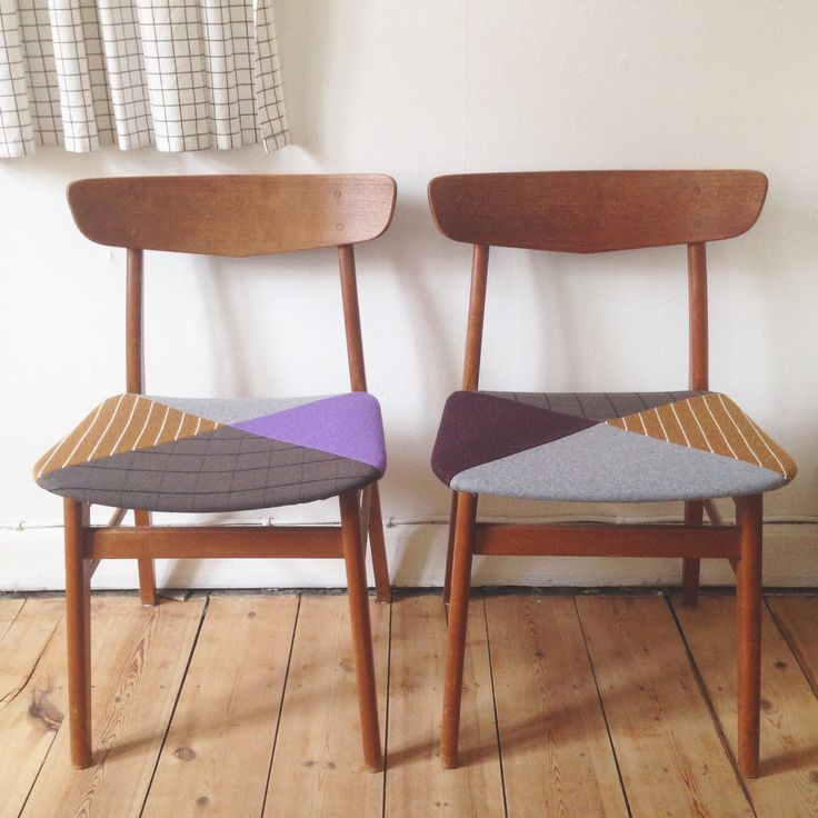 redesign of old teak chairs from the 60´ies. -Line Hvass