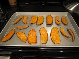 """Homemade Sweet Potato Dog Chews - a healthy alternative to rawhides    Pinner said, """"I use a NESCO food dehydrator for optimal results. My dogs love, Love, LOVE these treats. Truth is they prefer Yams over all other foods - including animal flesh."""""""