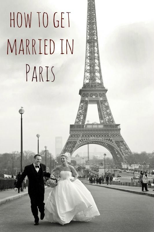 How to Get Married in Paris... Already Married, but this is Awesome!