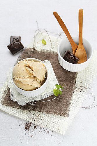 Coffee Frozen Yogurt by Migle Seikyte, via Flickr